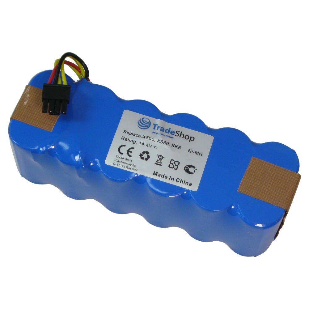 Trade-Shop - Batería de Ni-Mh (14,4 V, 4500 mAh, 65 Wh, sustituye ...