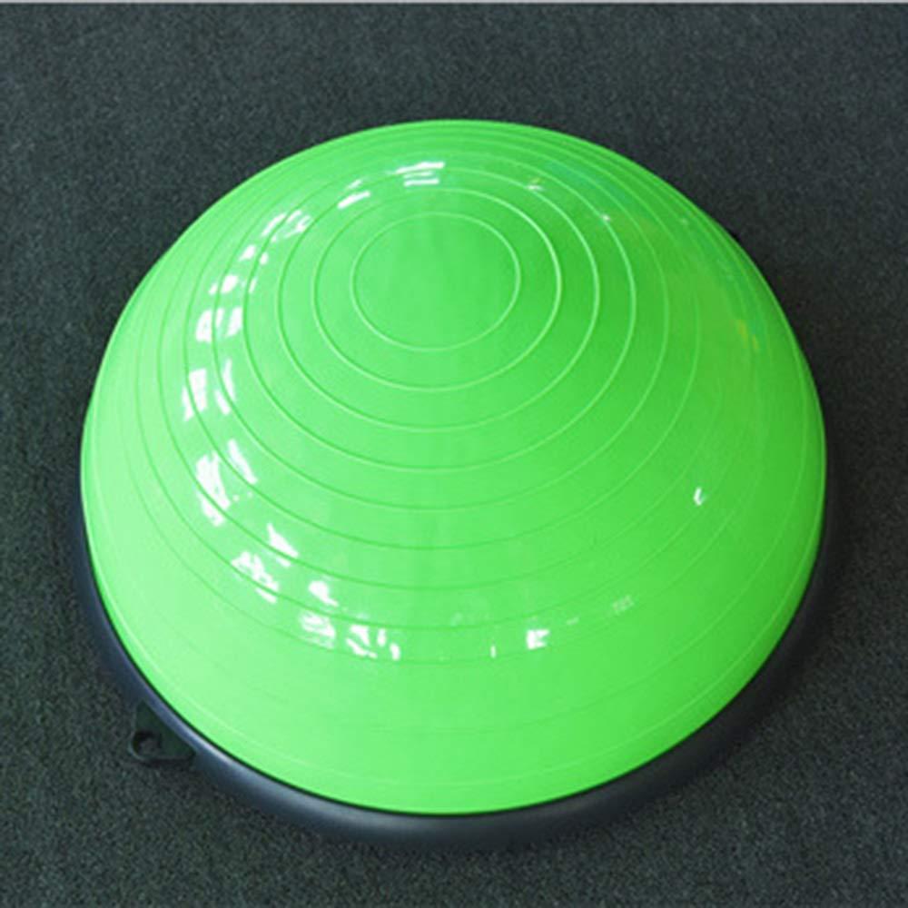 大注目 ヨガバランストレーナー58センチバランストレーナーボールフィットネス強度エクササイズバランスボールとリフティングロープとポンプ Green B07R3R3ZCX B07R3R3ZCX Green Green Green, 松野町:1908a61b --- arianechie.dominiotemporario.com