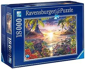Ravensburger 17824 - Paradiesischer Sonnenuntergang-Puzzle, 18000 Teile