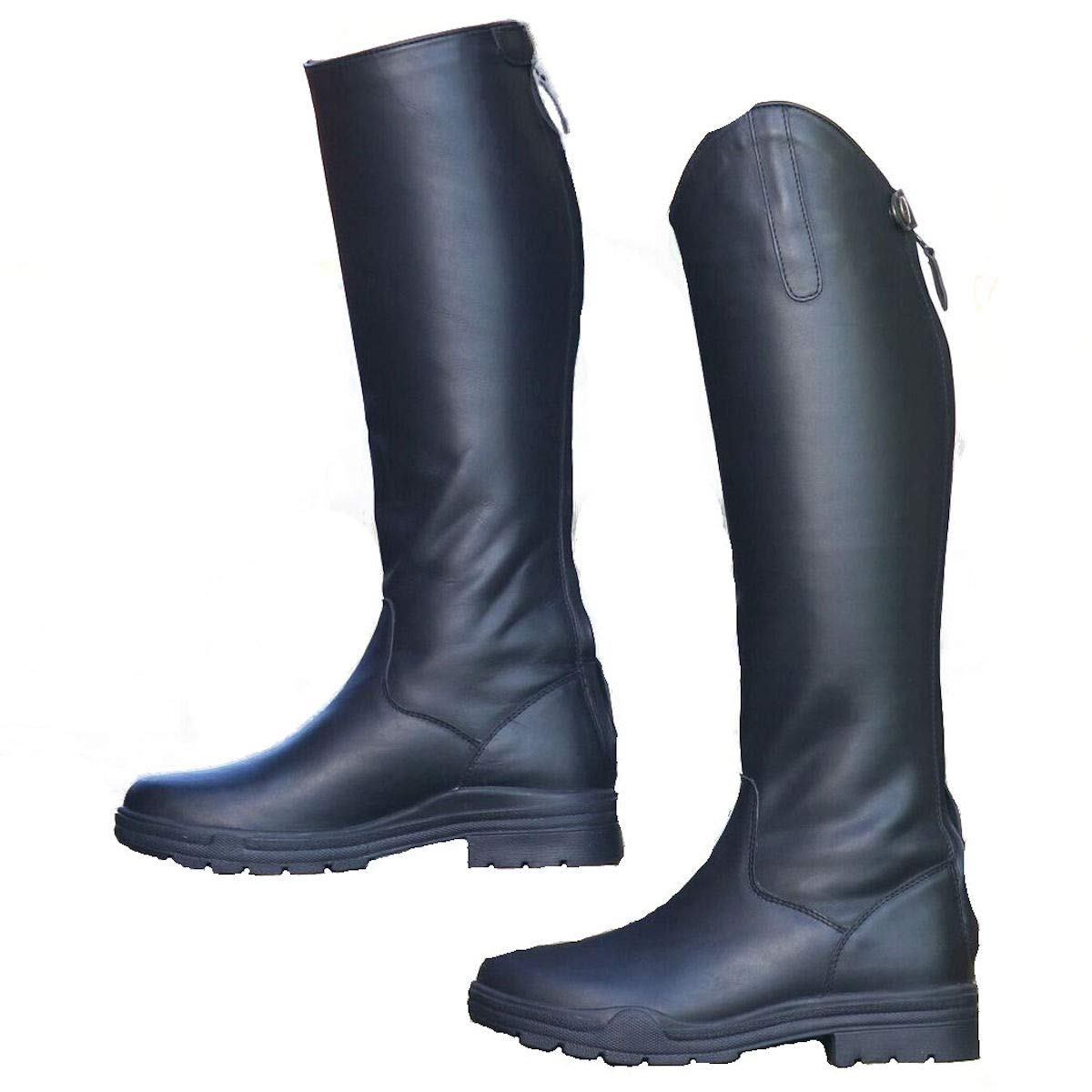 Moreton (lang Leder Leder Leder Reitstiefel Reiten Schuhe stabile Yard 359970