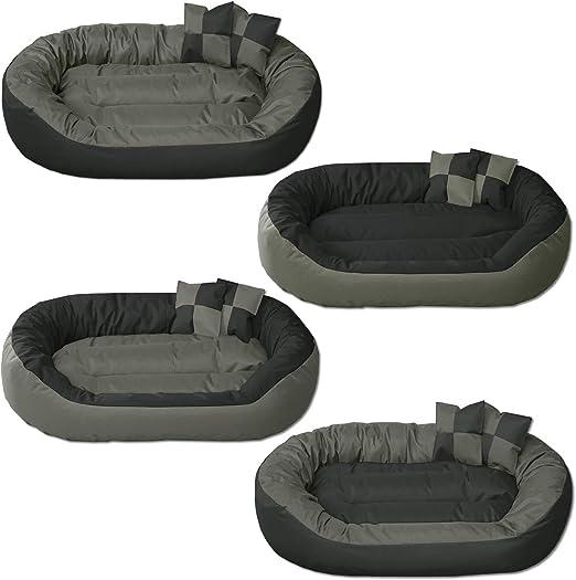 BedDog® 4en1 Sunny Antracita/Gris XL Aprox. 85x70cm colchón para ...