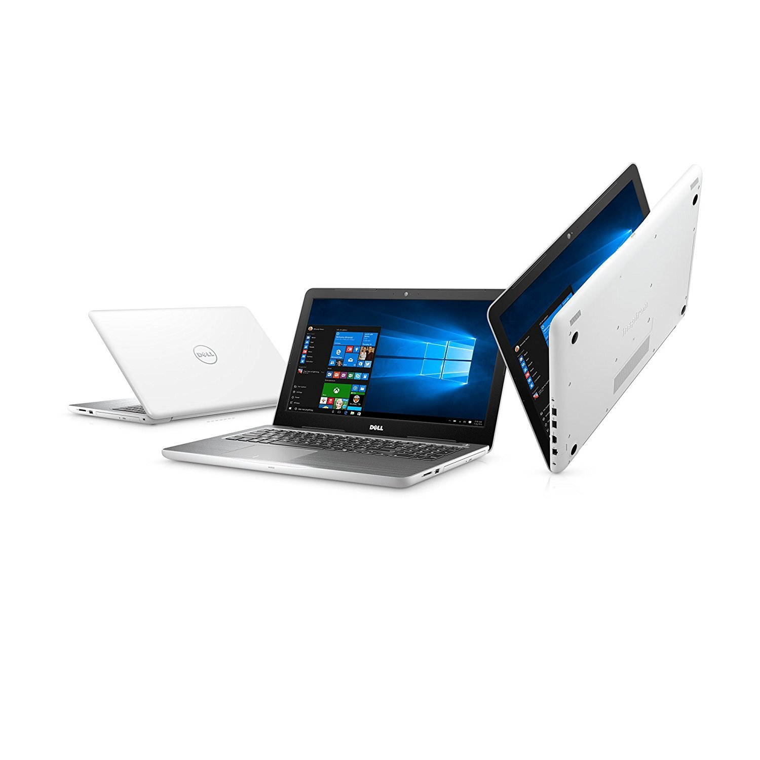 Dell i5567-0927WHT ,15.6'' Laptop,(Intel Core i3 (up to 2.40 GHz),8GB,1TB HDD),Intel HD Graphics 620, Sparkling White by Dell
