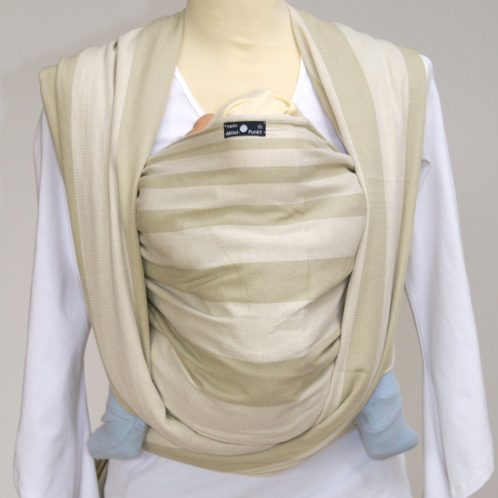 DIDYMOS Woven Wrap Baby Carrier Stripes LARS, Size 6