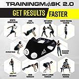 TRAININGMASK Gym Training Mask 2.0 Blackout