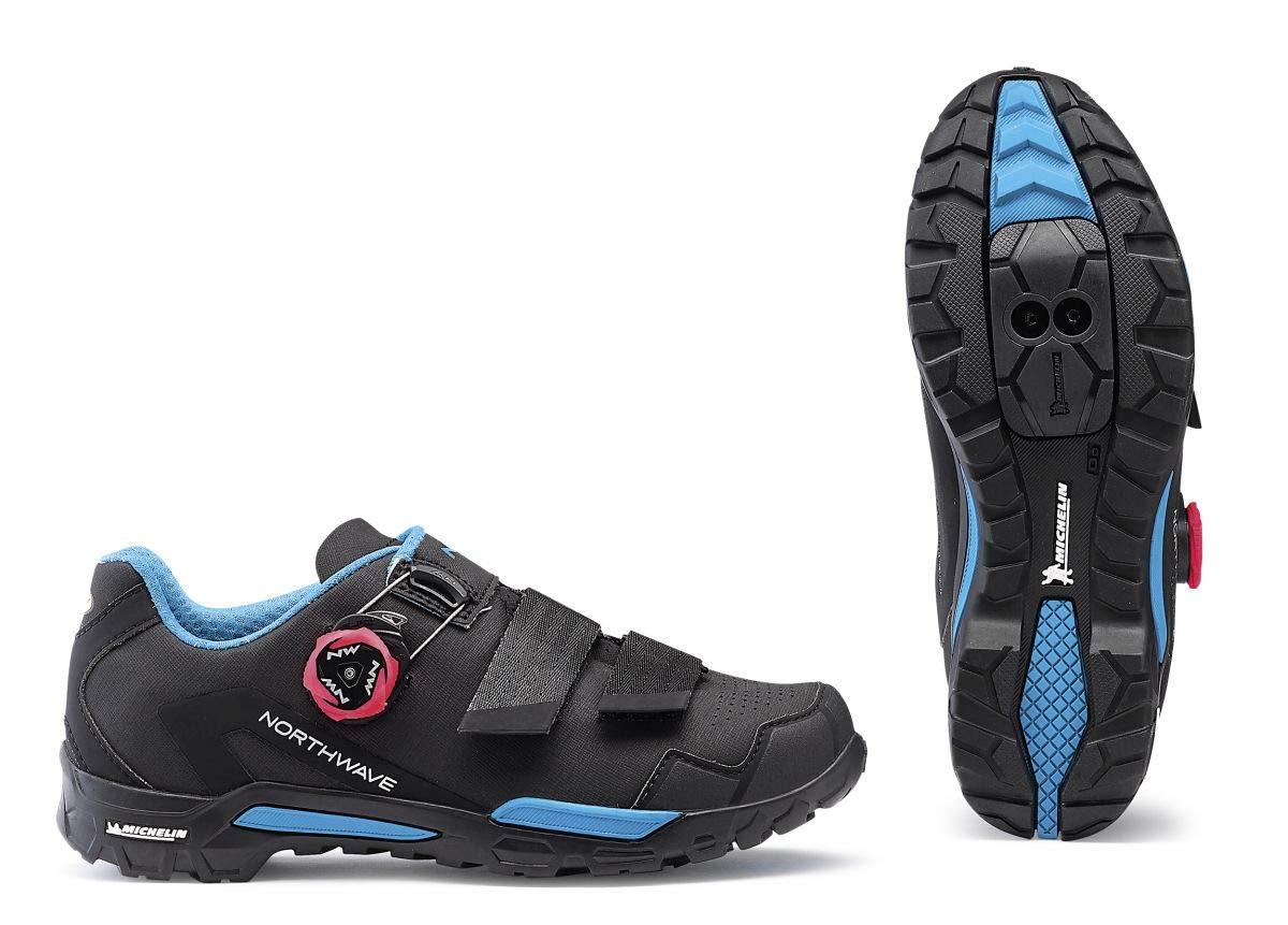 Northwave Outcross 2 Plus Damen Damen Damen MTB Trekking Fahrrad Schuhe schwarz blau 2019 9dcf84