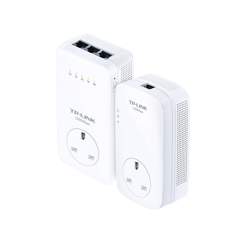 Tp Link 1200 Mbps Dual Band Gigabit Passthrough Ac1200 Powerline Home Wiring Internet Adapter Range Extender Broadband Wi Fi Booster Hotspot Clone