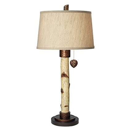Pacific Coast Lighting Birch Tree Table Lamp In Natural
