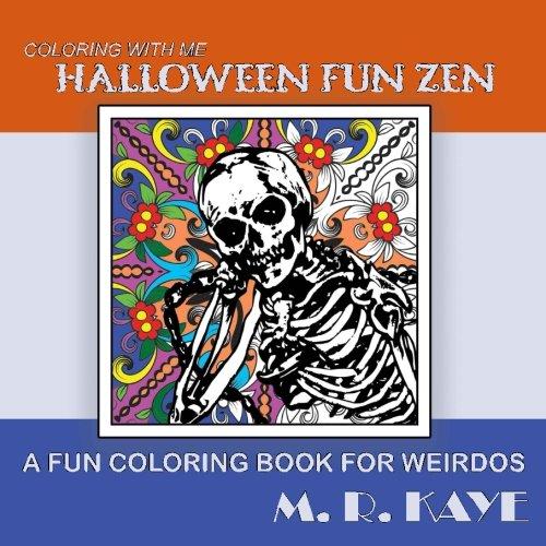 Halloween Fun Zen: A Fun Coloring Book For -