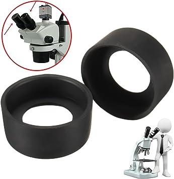 Binocular microscope Eyepiece Cups Rubber eye guards EyeShield for 34-37mm 2PC