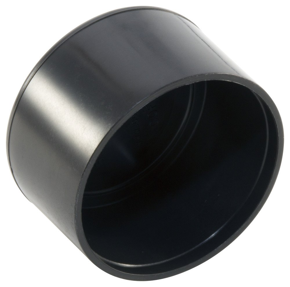Caplugs 99191843 Finishing Cap for Round Tubing and Rods, Plastic, Cap ID 1.125'', Length .85'', COF-1 1/8, black (Pack of 300)