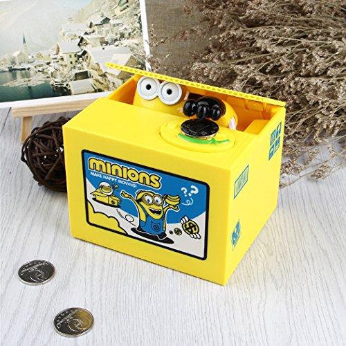 (Cute Coin Bank, Stealing Coin Money Box Piggy Bank, Saving Box Money Box Kids Children Present Gift -)