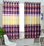 TIANTA- A Set Of 2 Pcs Bedroom Living Room Balcony Thickening Shading Imitation Cotton Linen Curtain Double-sided Pattern Simple Modern Finished Product decorate ( Size : 3.42m (widthheight) )