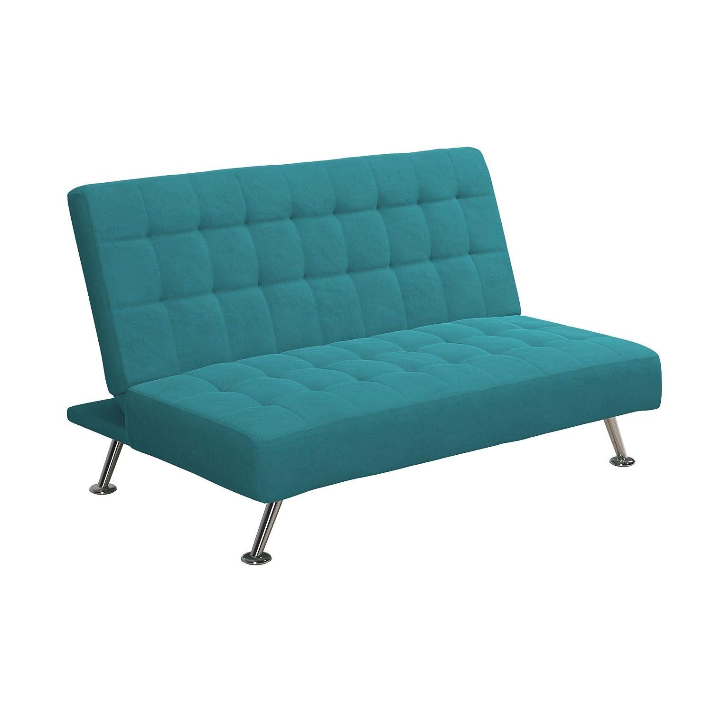 Amazon.com: DHP DZ97301 Mica, Teal sofá para niños, Madera ...