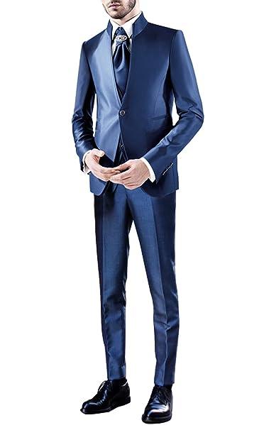 Suit Me traje adaptada de los hombre s Traje de 3 piezas de collar del  soporte 9d7d7baacb1