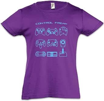Urban Backwoods Control I Camiseta para Niñas Chicas niños T-Shirt
