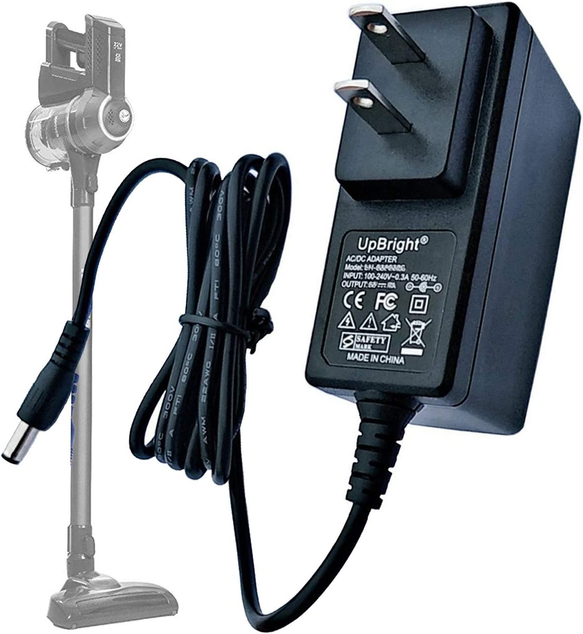 26V AC Adapter Compatible with Hoover 440009553 YLJXA-T260040 BH52210 BH52210CA BH52210PC BH52200 BH52212 Cruise 22 Volt Stick Vacuum YLS0121A-E260040 Freedom FD22BR FD22G FD22L FD22F Power