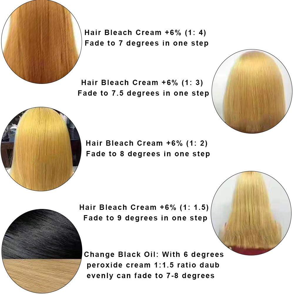 Blanqueador de cabello, 400ml Champú decolorante para ...