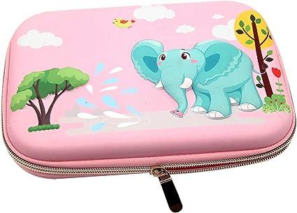 ZF - Estuche de Goma EVA para lápices, Color Rosa: Amazon.es: Informática