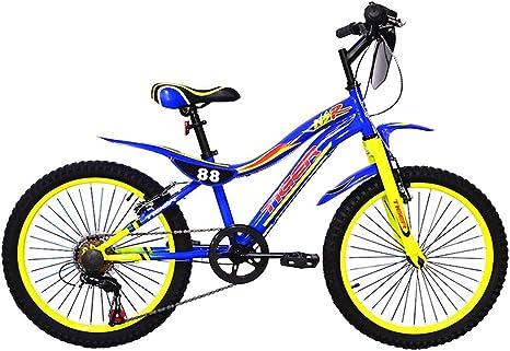 Tigre 88 moto bicicleta – azul/amarillo (20