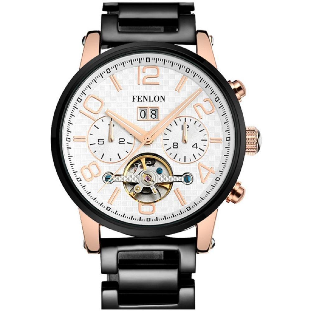 WP- Uhr Armbanduhr Voll automatische Armbanduhr Herrenuhr Stahlband