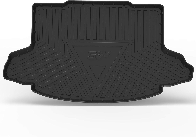 3W Cargo Liner for Honda CR-V 2017 2018 2019 All Weather Custom Fit TPE Trunk Cargo Tray Black
