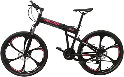 Helliot Bikes Hummer 01 Bicicleta de montaña Plegable, Adultos ...