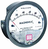 Dwyer Magnehelic Series 2000 Differential Pressure Gauge, Range 0-4 psi