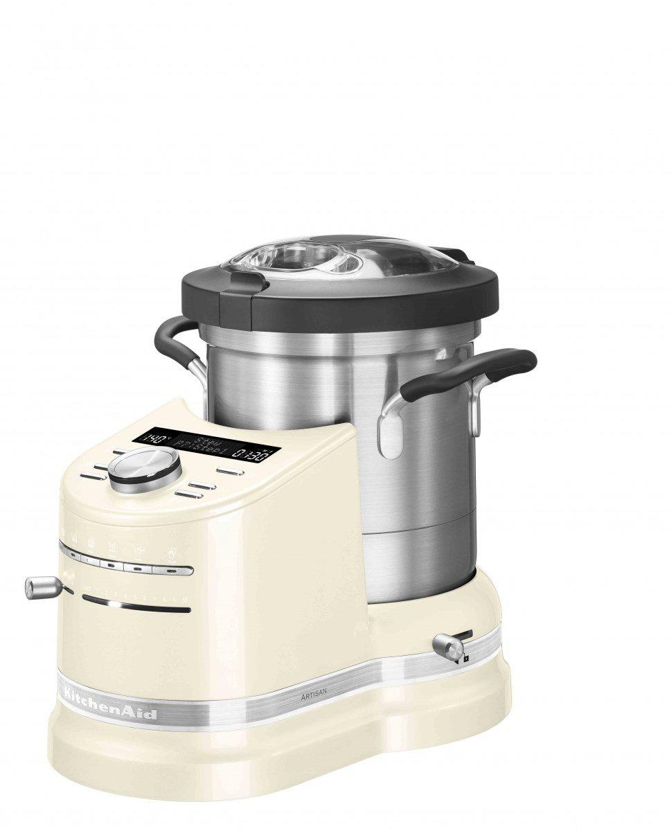 KitchenAid Cook Processor Artisan Küchenmaschine Leistung 1500 Watt Volumen 4.5 Liter 5 kcf0103eac Farbe Creme