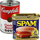 BigMouth Inc (Set) Spam and Campbell's Soup Can Secret Safes - Hide in Stuff Plain Sight