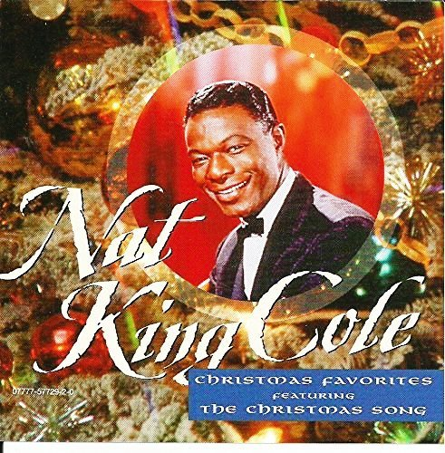 christmas favorites nat king cole CD Covers