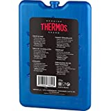 2x Thermos Freeze Board Ice Pack Pequeño Bloque De Hielo Ice Box–Pack de Viaje plano 200g