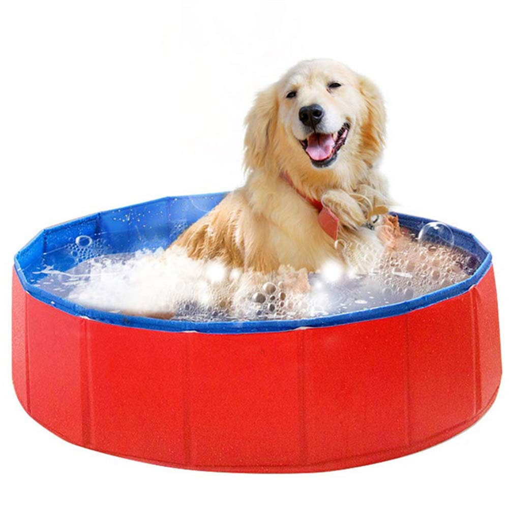YQQY Foldable Pvc Dog Cat Water Pool Pet Outdoor Swimming Playing Pond Animal Water Tool In Summer
