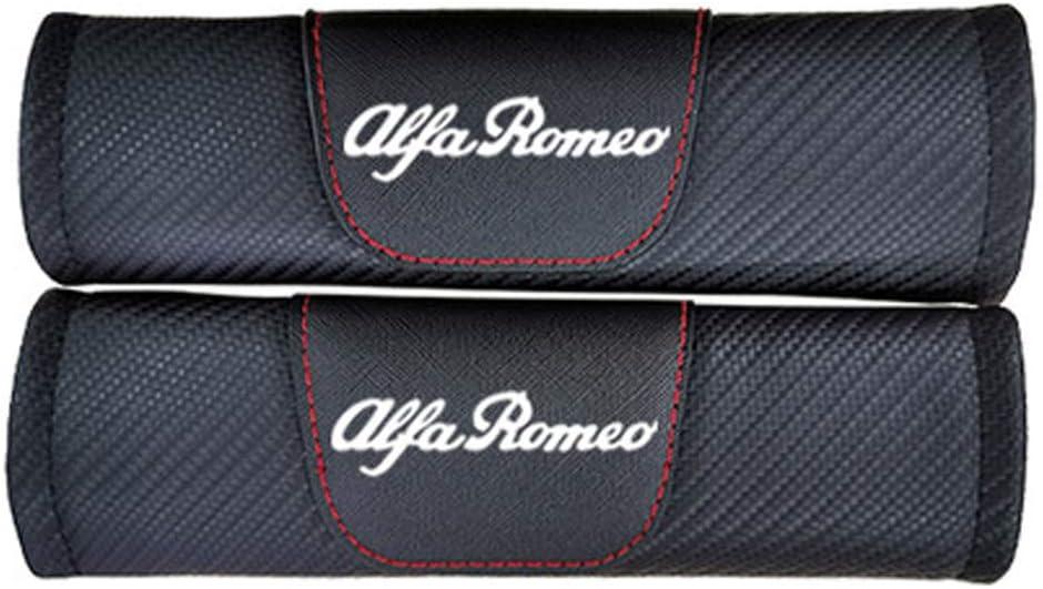 Rennsport Styling Schulter Gurtschutz Abdeckung TYMDL 2 St/ück Karbonfaser Auto Sicherheitsgurt Schulter-Pads Gurtpolster f/ür Alfa Romeo Giulietta Mito All Models