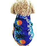 PanDaDa Dog Cat T Shirt Pet Clothing Shirt Puppy Clothes Summer Apparel