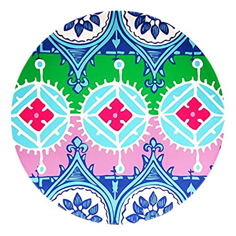 French Bull Melamine Round Platter, 15-1/2-Inch, Florentine