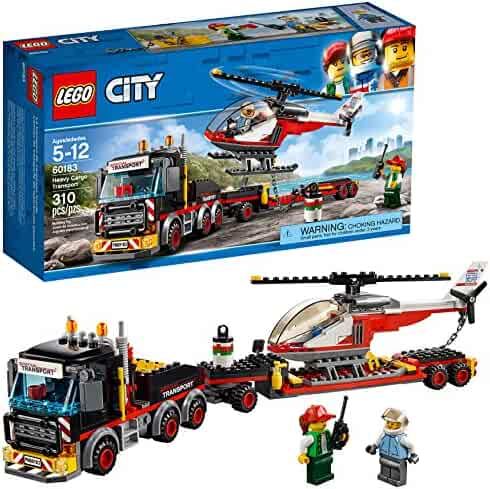 LEGO City Heavy Cargo Transport 60183 Building Kit (310 Piece)