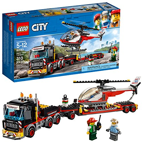 - LEGO City Heavy Cargo Transport 60183 Building Kit (310 Piece)