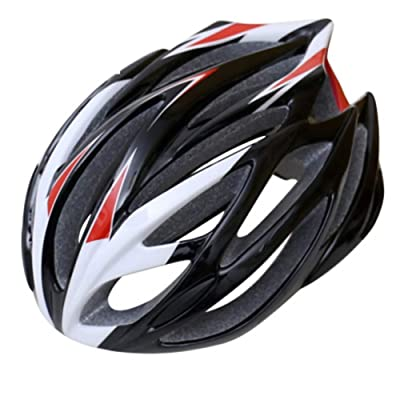 LXFTK Cycling Bicycle Helmet, Summer Men and Women Mountain Bike Helmet, Road Outdoor Protection Riding Helmet-Black : Sports & Outdoors