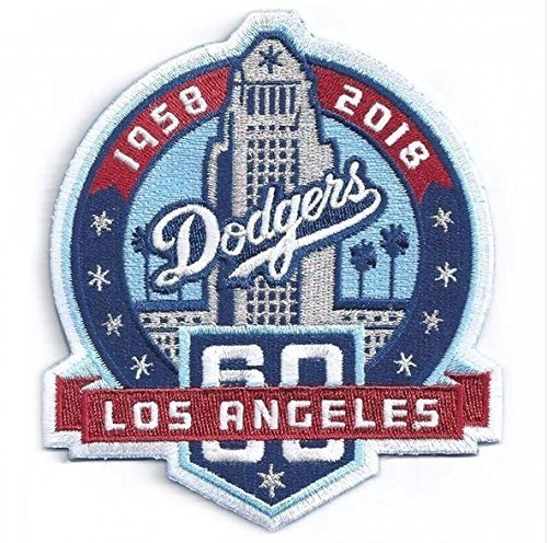 2018 Los Angeles Dodgers 60th Anniversary Collectible Patch