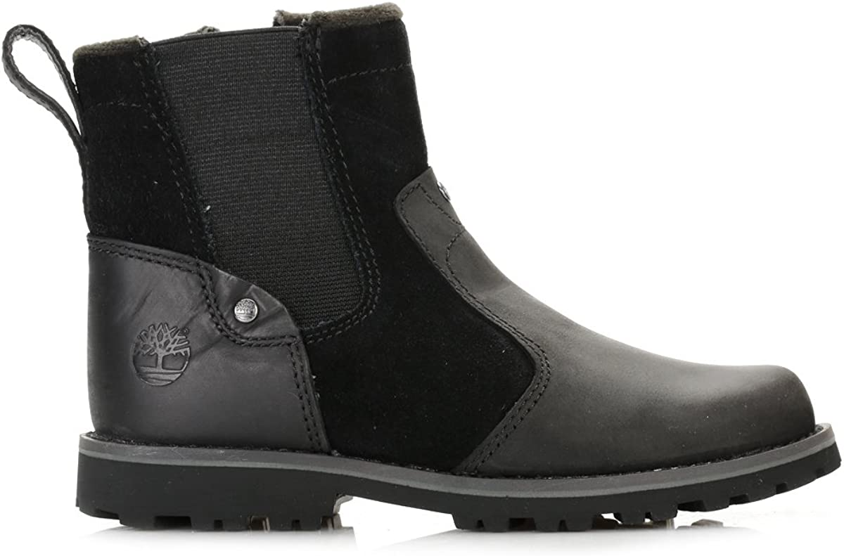 Timberland Asphalt Trail Junior Black Leather 30.5 EU