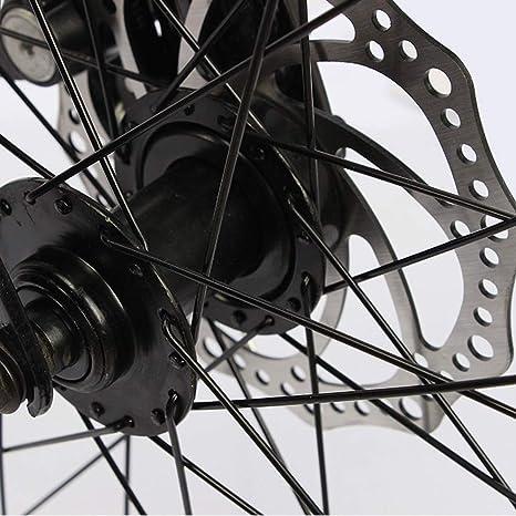 MH-LAMP Bikes Plegable, Bicicleta Adulto Hombre, MTB Freno Disco ...