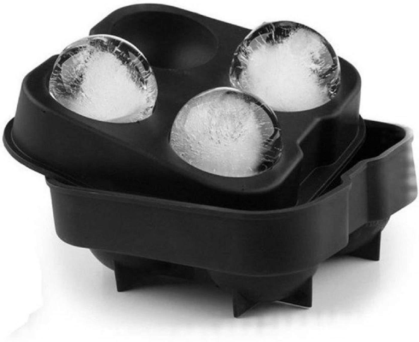 ADEPT Ice Ball Maker Food Grade Silicone Ice Moulds Makes 4 X 4.5 cm Balls (B07HDCPLPB) Amazon Price History, Amazon Price Tracker