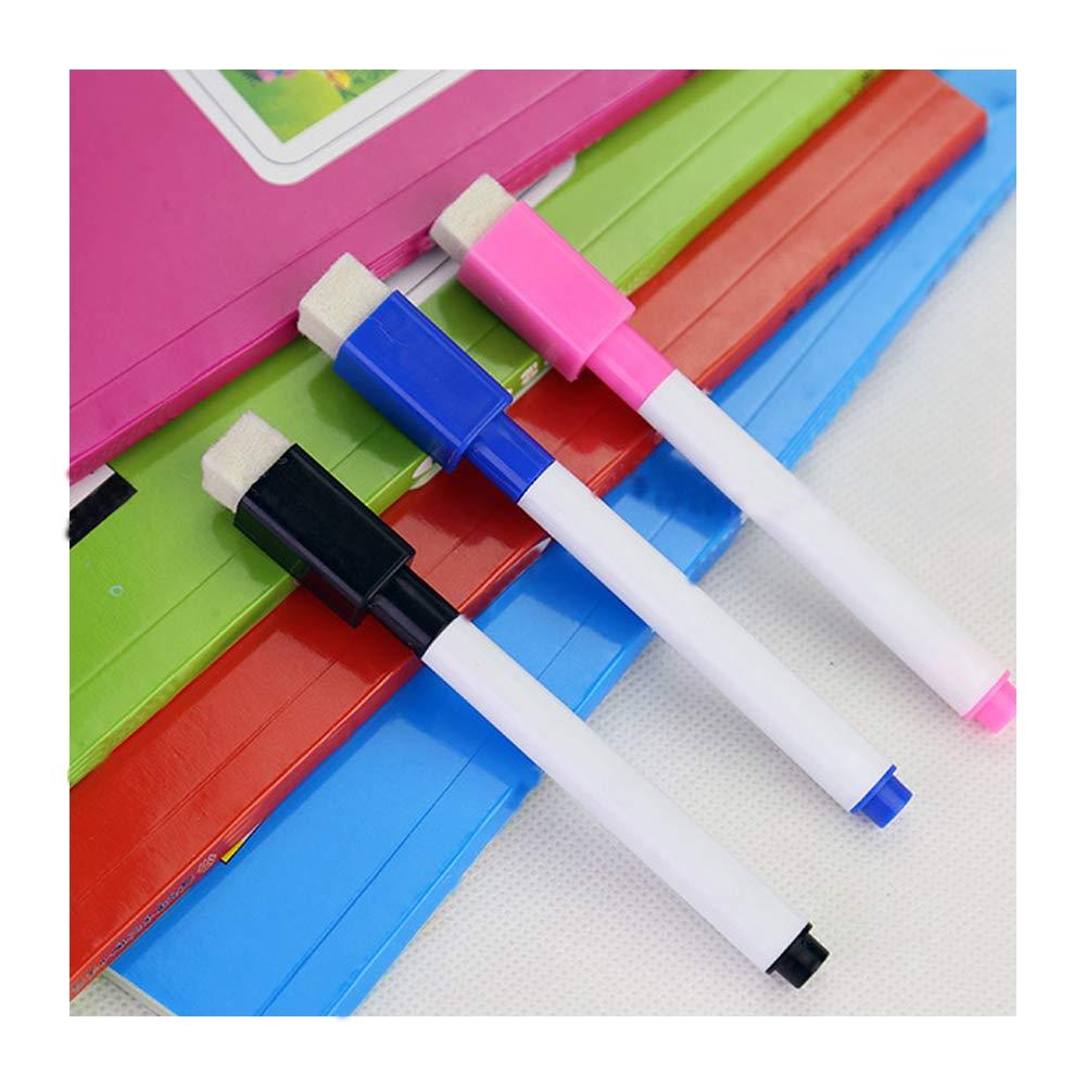 Magnetic Dry Erase marker Lavagna bianca Erase Marker con gomme Cap per la scuola e lufficio