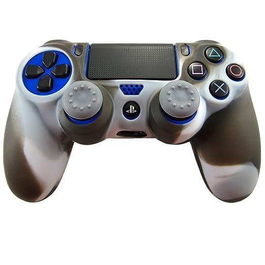 324 opinioni per Pandaren® Pelle cover skin per il PS4 controller(bianco nero) x 1 + pollice