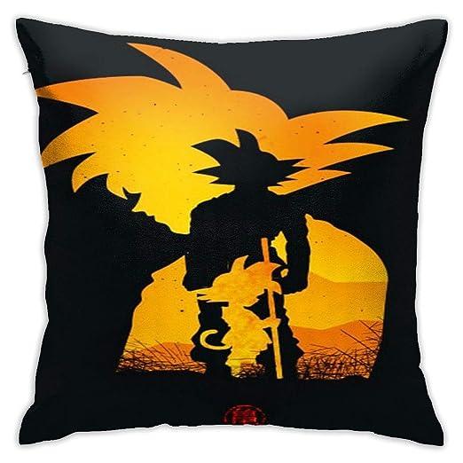 DailiH Fundas de cojín Dragon Ball Z - Funda de Almohada ...