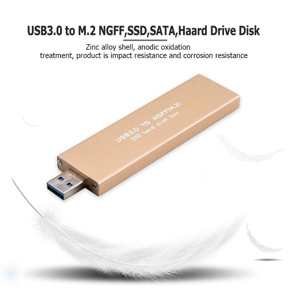 Tuankay - Disco Duro Interno SSD (USB 3.0 a M.2 NGFF, SSD Mobile ...