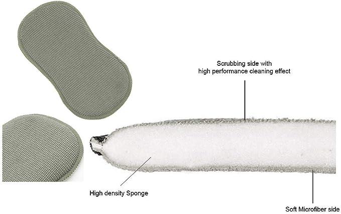 Cleaning Multipurpose Sponge Vacuum Packed 220mm  x  110mm  x  50mm *FREE DEL*