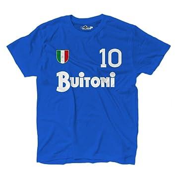 KiarenzaFD - Camiseta vintage de fútbol del Nápoles, número 10, Diego Armando Maradona, temporada 87-88: Amazon.es: Deportes y aire libre