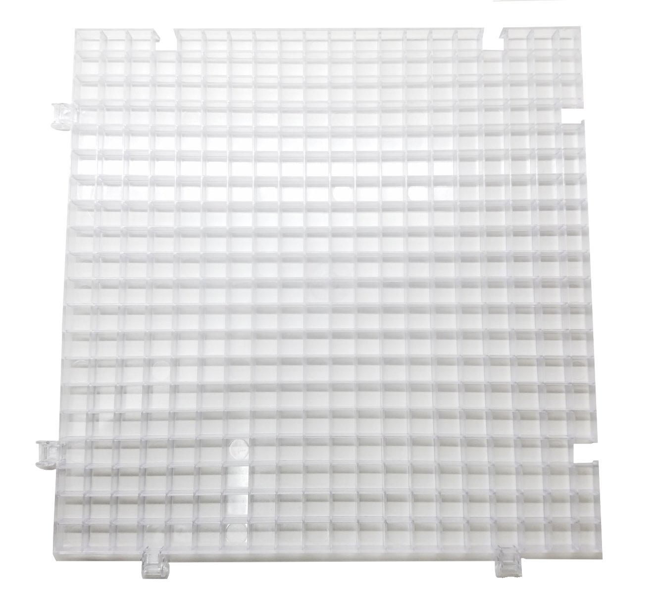 Creator's Waffle Grid 4-Pack Translucent/Clear Modular Surface for Glass Cutting, Drying Rack, Small Parts or Liquid Containment. Use at Home, Office, Shop - Works with Creator's Or Morton Products