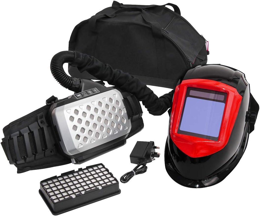 Sealey PWH615 - Casco de soldadura con respirador purificador de ...